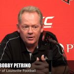 UofL Football Coach Petrino on National Anthem Protest & President Trump's Tweet