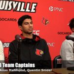 UofL Cardinals MBB Team Captains on Naming of David Padgett Interim Coach