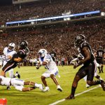 UK Football's Baity, MacGinnis Earn SEC Player of Week Honors