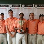 Georgetown College competes in MSC Fall Golf Tournament