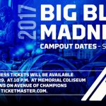 UK MBB: Big Blue Madness Tickets to be Distributed Sept. 29