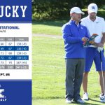 UK MGOLF: McDaniel Leads UK to First Place, Program Record Low Round