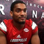UofL Cardinals Football Media Day 2017 – Reggie Bonnafon (RB)