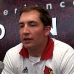 UofL Cardinals Football Assistant Coach Cort Dennison – Media Day 2017