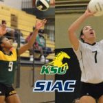 Kentucky State Volleyball's Poole and Smyers Claim SIAC Weekly Honors