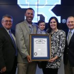 UK Baseball's Coach Mingione Receives Prestigious Kentucky Colonel Honor