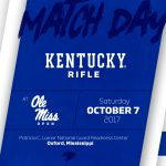 No. 4 UK Rifle to Begin 2017-18 Season at Ole Miss Open