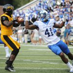 UK Football's Josh Allen Named AP and Sports Illustrated Second-Team Midseason All-American