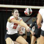 WKU Volleyball's Engle Picks Up Fourth C-USA Defensive PotW Honor
