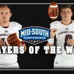 Campbellsville's Univ Brown & Bates named Mid-South Conference Bluegrass Division Players of the Wk