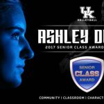 UK Volleyball's Dusek Named Candidate for Senior CLASS Award