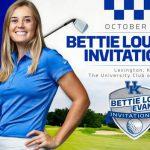 UK Women's Golf Set to Host Bettie Lou Evans Invitational