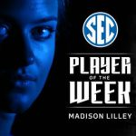 UK Volleyball's Brown, Edmond, Lilley Win SEC League Honors