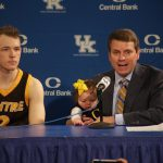 Centre College MBB Coach Greg Mason Post Game vs UK Wildcats in Exhibition