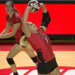 WKU Volleyball's Lucas Earns C-USA Record 18th Career Weekly Award, Music Tabbed Defensive PotW