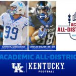 Three UK Football Players Named to CoSIDA Academic All-District Team