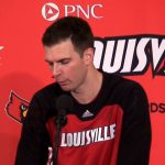 UofL Cardinals MBB Coach Daivd Padgett on WIN vs St Francis