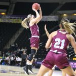 Wright Scores Career-High, Hayes Adds 20 as EKU WBB Earns First OVC Win at Tennessee Tech