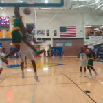 Kendrick Curry Monster DUNK for Bryan Station over Andreus Green of Henry Clay