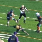 Lexington Runner HURDLES Louisville Defender in 12U Football Game