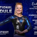 Kentucky Gymnastics Announces 2018 Promotional Schedule