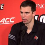 UofL Cardinals Basketball Coach David Padgett on home loss to Seton Hall