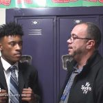 Larue County HS Basketball Shane King interview on Hawks Hoops 2017-18