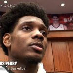 UofL Cardinals Basketball Darius Perry on WIN vs Grand Canyon
