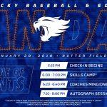 UK to Host 2018 Baseball/Softball Fan Dan on January 28