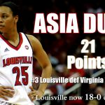 Durr leads No. 3 UofL WBB past Virginia Tech, 67-56