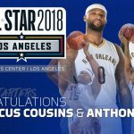 UK MBB's Cousins, Davis Voted to the NBA All-Star Game as Starters