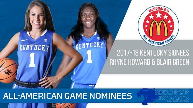 University of Kentucky womens basketball 2018