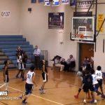 Darien Lewis – 2022 GUARD Newburg MS Basketball 2017-18 vs Moore [DISTRICT]