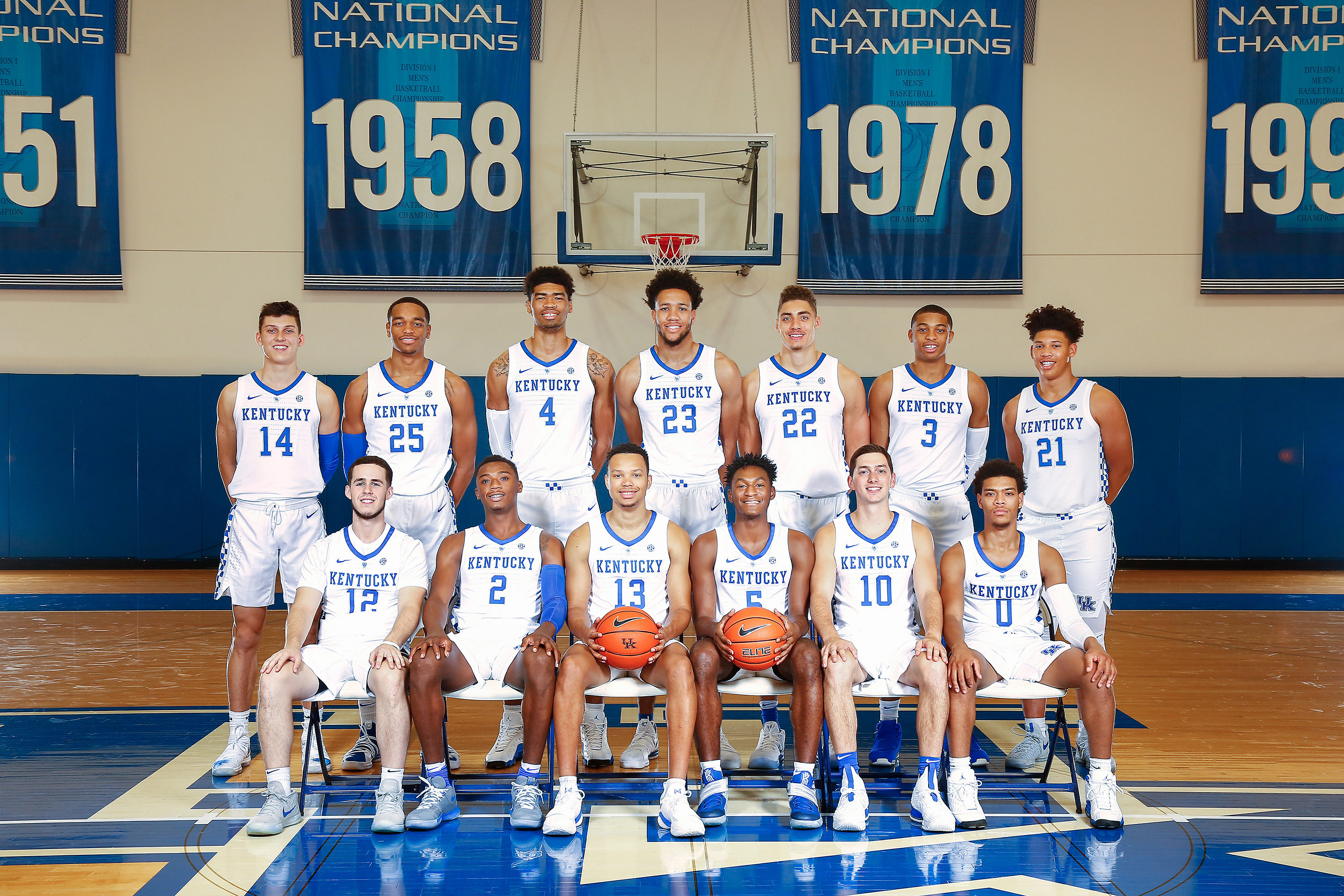 Kentucky Basketball 2018 19 Photo Day: University Of Kentucky Mens Basketball 2018-19