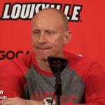 UofL MBB Coach Chris Mack Previews North Carolina Rematch
