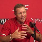 Louisville Football Coach Scott Satterfield Previews Wake Forest
