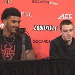 Louisville Basketball Williams & McMahon on WIN vs Pitt