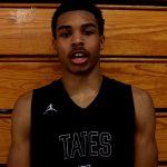 Tates Creek HS Basketball Amari Taylor on WIN vs Lafayette